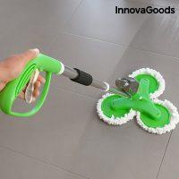 Mopp med spray - Tripple action golvmopp