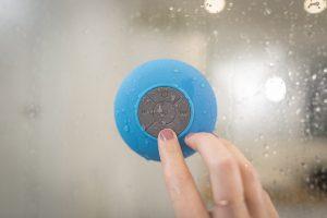 Vattentät trådlös högtalare - Bluetooth
