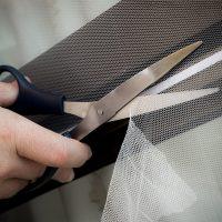 Myggnät till fönster med kardborreband - Självhäftande