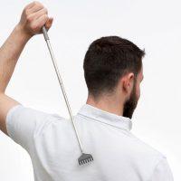 Teleskopisk ryggkliare - utdragbar 65 cm
