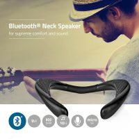 Nackhögtalare med Bluetooth 2x4,5 w